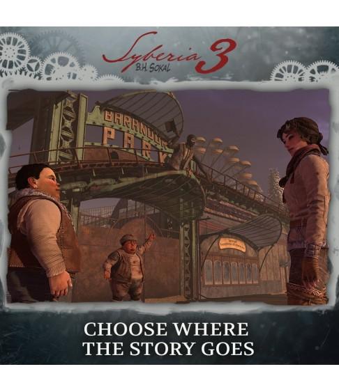 Syberia 3 [PS4]